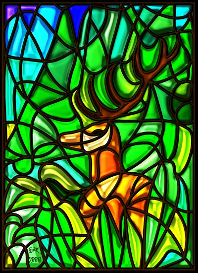 Stag - Confidence by StarFields 2008. All Rights Reserved.